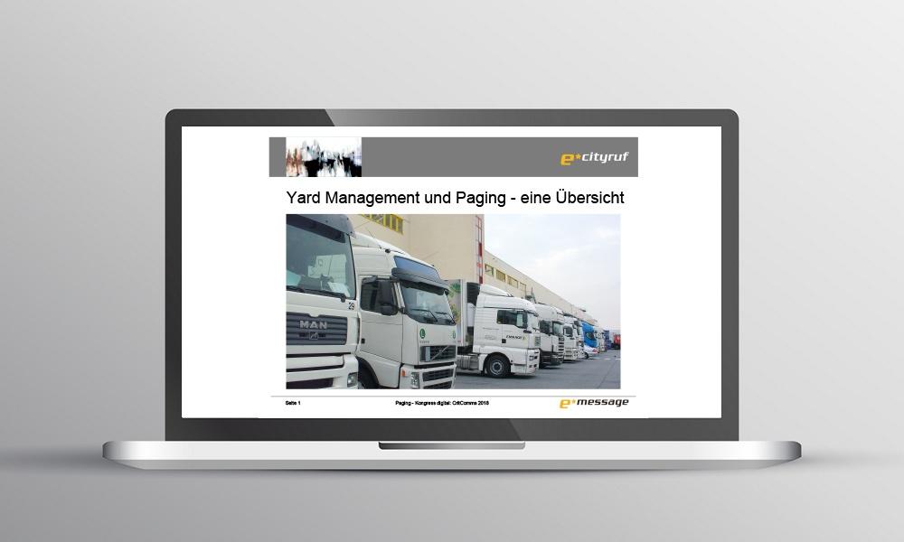 Yard Management Vortrag